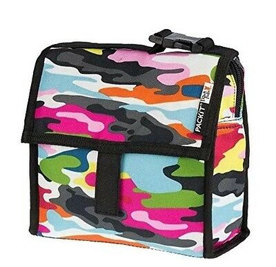 NEW PackIt Freezable Mini Lunch Bag Go Go /