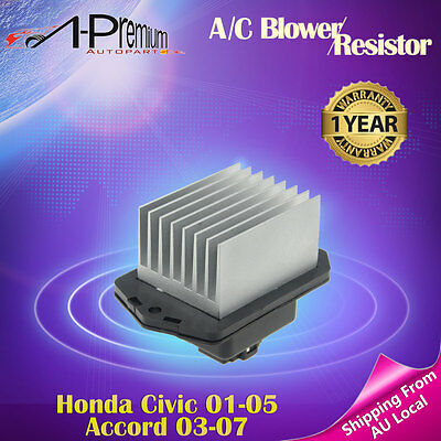 A-Premium A/C Blower Motor Resistor for Honda Civic 2001-2005 Accord 2003-2007