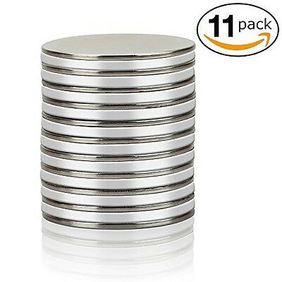 Thin Round Disc Magnets - Strong Neodymium N45 for DIY Fridge, and Crafts