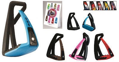Freejump Soft Up Lite Stirrups PLUS FREE UK FLAG PIN WORTH £24 (first 6 orders)
