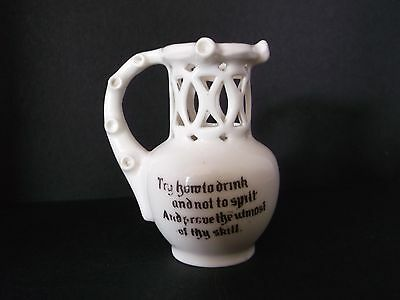 Vintage Crested Ware 'CHESTERFIELD' Puzzle Jug