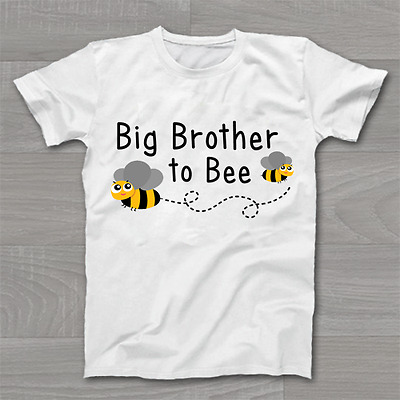 Big Brother to Bee - Boys New Arrival Announcement - Childrens Kids T Shirt