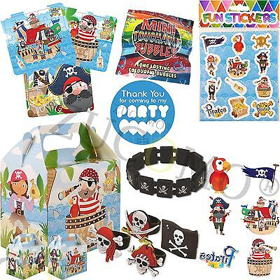 Pirate Party Bag Fillers Pre Filled Childrens Boys Girls Birthday Party Bags