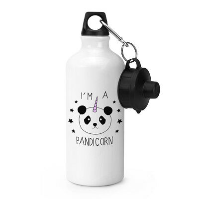 I'm A Pandicorn Unicorn Sports Drinks Water Bottle - Panda Unicorn