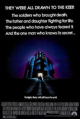 The Keep (1983) Original Movie Poster  -  Rolled