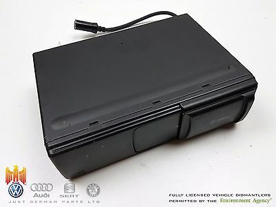 Audi Tt [1998-2006] In Boot 6 Disc Cd Compact Disc Changer / Player - 8N8035111A
