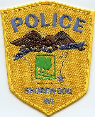 Shorewood Wisconsin Wi Police Patch