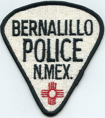 Bernalillo New Mexico Nm Police Patch