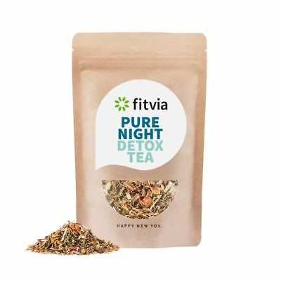 Fittea 28 Days Body Detox Pure Night X1 100g Pouch