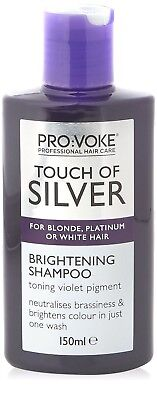XHC Touch Of Silver Brightening Shampoo For Blonde Platinum Or White Hair 150ml