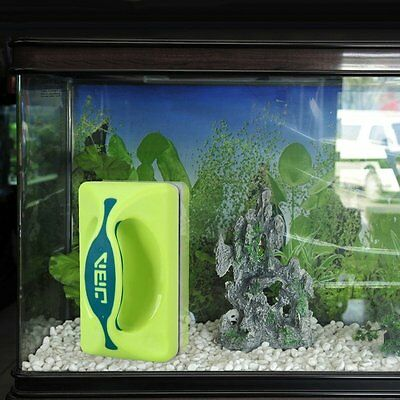 Gearmax® Magnetic Aquarium Fish Tank Glass Algae Scraper Cleaner Floating Clean