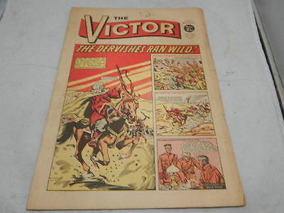 THE VICTOR COMIC No 522 ~ Feb 20th 1971 ~ The Dervishes Ran Wild!