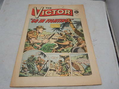 THE VICTOR COMIC No 524 ~ Mar 6th 1971 ~ Go In Fighting!