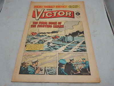 THE VICTOR COMIC No 525 ~ Mar 13th 1971 ~ The Final Hour Of The Fighting Shark