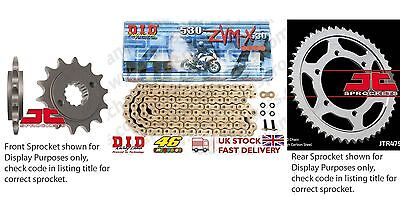 DID X Ring Pro Gold Kit 18/43t 530/118 fit Suzuki GSF1250 Bandit (ABS) 07-09