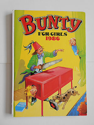 BUNTY FOR GIRLS children's comic book annual 1986 GOOD CONDITION