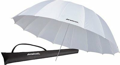 Westcott 7 foot 2.2m Parabolic Umbrella - White 4632