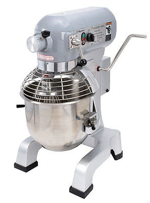 Commercial Kitchen 20 Qt. Planetary Mixer ETL Certified 1.5 HP