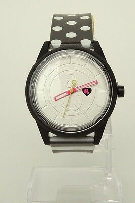 HARAJUKU LOVERS By Gwen Stefani Watch Unisex Black White NEW Limited Edition