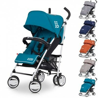 Baby Stroller Pushchair Ezzo Pram Buggy footmuff + foldable shopping city