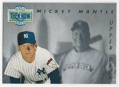 1993 Upper Deck Then Now Holoview Mickey Mantle Baseball Card # TN17 - Mint