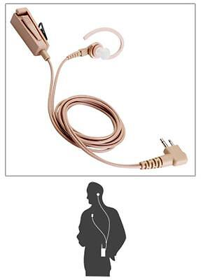 Motorola Two Wire Earpiece for BPR40, CP200, CP150, PR400 (HMN9754)