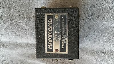 Hammond 802 Classic Black Hammertone finish Audio Transformer