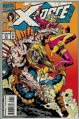 X-Force - 037 - Marvel - August 1994