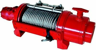 Hydraulic Winch - 12,500 or 17,500 LBS - Inc Accessories - Balance Valve/Tension