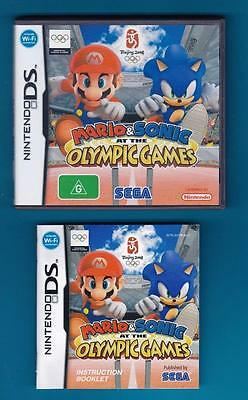 Mario and Sonic at the Olympic Games  - Case/Sleeve & Manual ONLY, NO Game, DS
