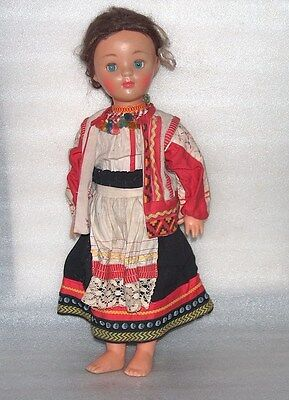 RARE VINTAGE DOLL IN TRADITIONAL COSTUME(RYAZAN) USSR/RUSSIA, MARCH 8-th FACTORY