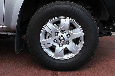 4 Holden Colorado LT 16x7 Rims 6/139.7 Wheels and 245/70/16 111S Tyres