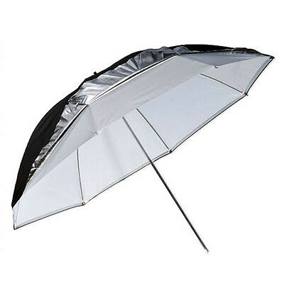 "Godox 40"" (102cm) Umbrella Dual Duty Reflector (Black Silver & White) #UB-006-40"