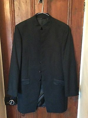 Mens Nehru Wedding Long jacket. Beatles collar 38""