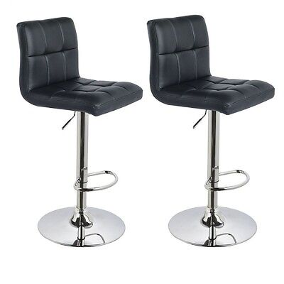 !2er Set! Barhocker in SCHWARZ / BLACK , Barstuhl Tabouret de Bar Stool +291+