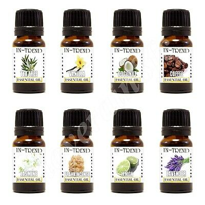 5ml Essential Oil - 100% Pure & Natural - Choose Fragrance - (Aromatherapy) UK
