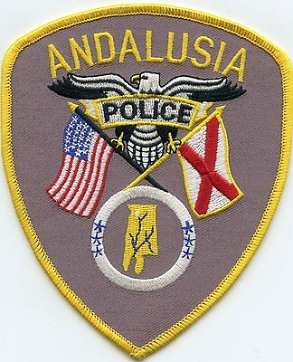 Andalusia Alabama Al Police Patch