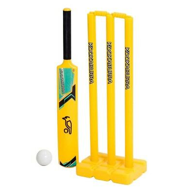 NEW Kookaburra Lithium 3.0 Junior Plastic Cricket Set   from Rebel Sport