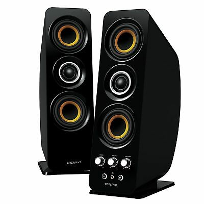 Creative 2.0 Channel T50 Wireless Speaker System Computer PC NFC Bass iPhone HTC