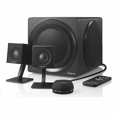 Creative 2.1 Channel T4 Wireless Speaker System Computer PC NFC Bass iPhone