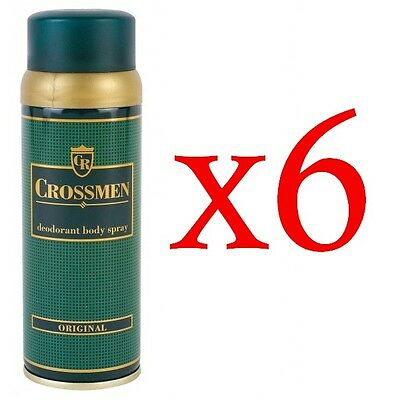 Crossmen Desodorante Spray 150Ml Original Pack 6 Unidades # Deodorant Spray