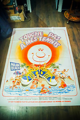 MALIBU BEACH 4x6 ft Vintage French Grande Movie Poster Original 1978