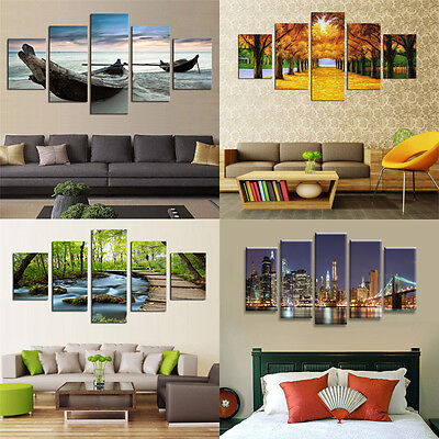 Canvas Modern Abstract Home Wall Decor Art Oil Painting Picture Print No Frame