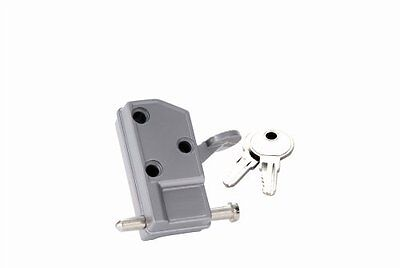 First Watch Keyed Patio Door Lock Aluminum (NEW)