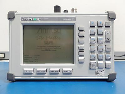 Anritsu S332D Sitemaster  Cable & Antenna Analyzer Case/Accesories