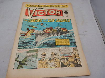 THE VICTOR COMIC No 255 ~ Jan 8th 1966 ~ The Sinking Of The San Andrea