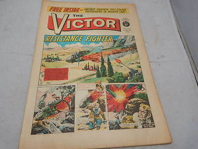THE VICTOR COMIC No 263 ~ Mar 5th 1966 ~ Resistance Fighter