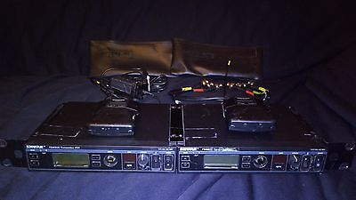 2 x Shure PSM900 Personal Monitor System