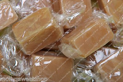 Wrapped Vanilla Fudge, Traditional Sweets, Select Weight 500g, 1kg, 3kg Bag