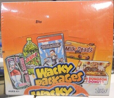 2013 Topps Wacky Packages Series 10 Factory Sealed Box With 24 Packs